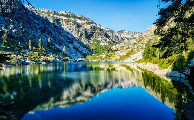 Morning at Emerald Lake