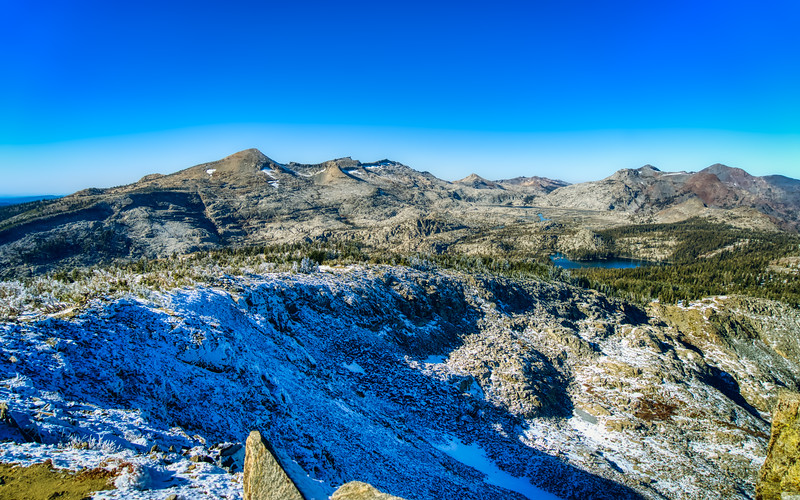 The Crystal Range and Desolation Valley from Mt. Ralston