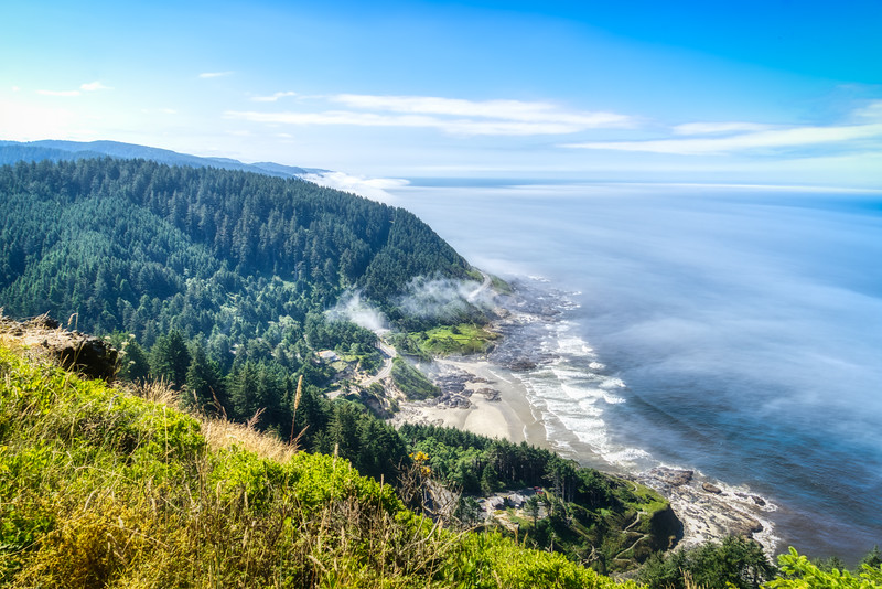 Cape Perpetua from the upper lookout