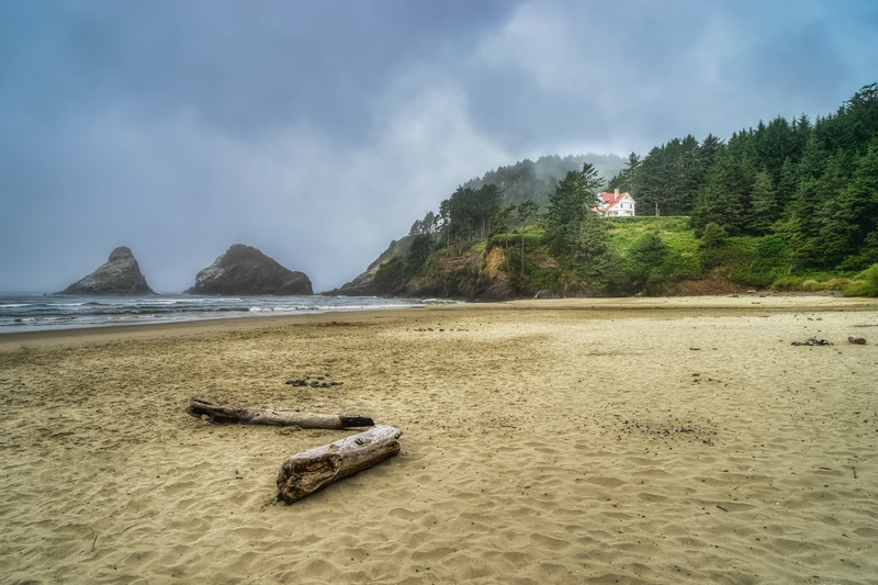 Heceta Head and Cape Cove, OR