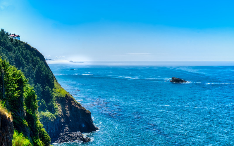 Views of Yaquina Head and the lighthouse