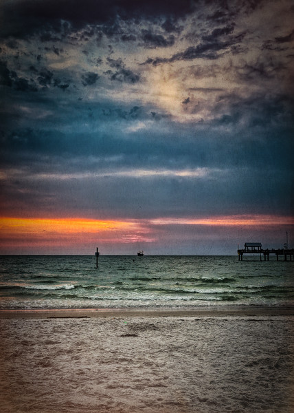A vintage Clearwater sunset