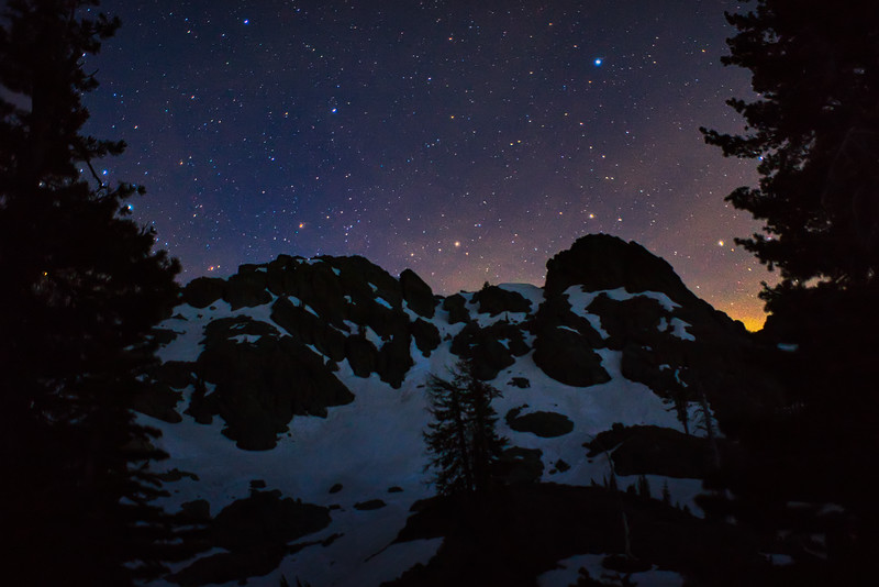 Stars over Black Buttes