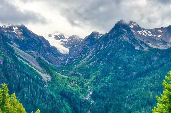 White Glacier and Glacier Creek
