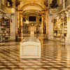 November 17, 2013: CHURCH: A very special Benedictine Monastery library in Admont, Austria. The abbey was consecrated in 1074. My  husband's uncle worked on the abbey's grounds.  What an experience walking into this space holding his hand and looking up with awe.