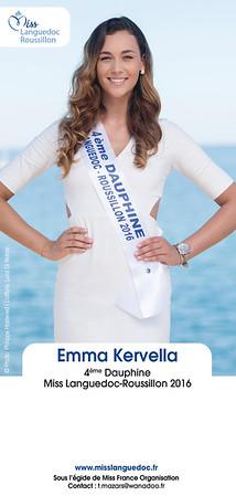 Dédicace de Emma Kervella - photographe cap d'Agde