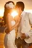 Sunset wedding reportage