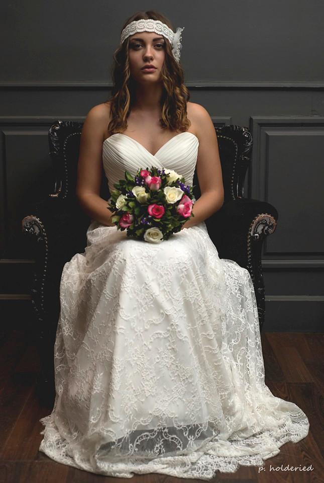 Robe de mariée bohème à Montpellier