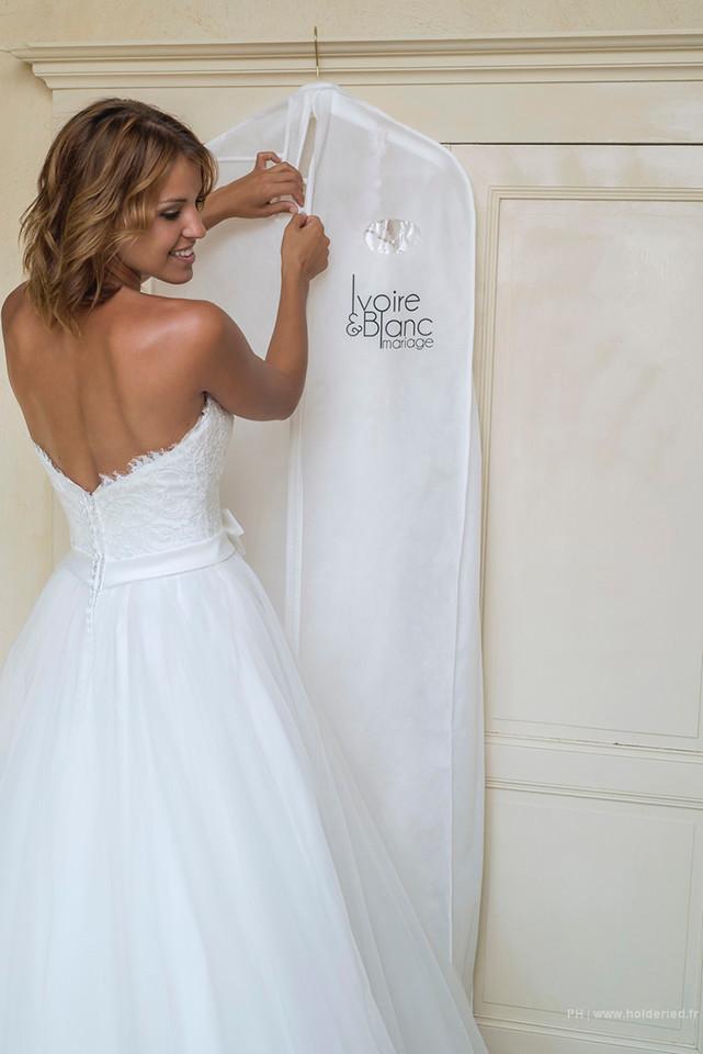 robe de mariée Montpellier : Ivoire & Blanc Mariage.