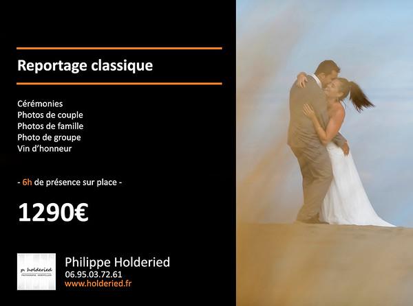 tarif photos de mariage 2019 / 2020