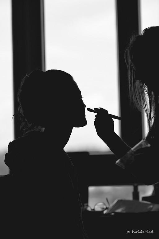 Maquillage de la mariée  - photographe mariage montpellier