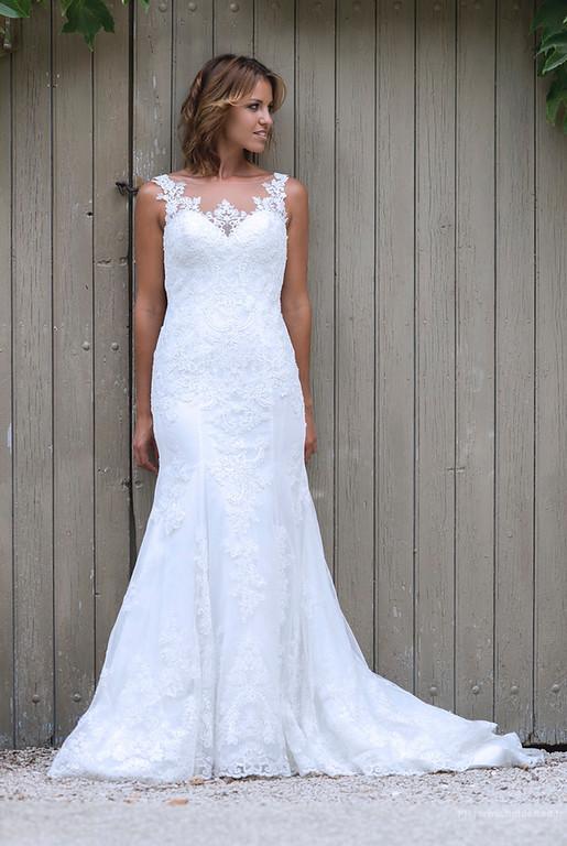 La robe de la mariée  - photographe mariage montpellier