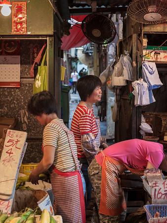 A popular market in HK