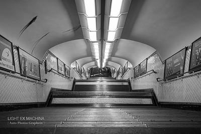 [ Auto Photos Graphein ] serie - Plongée dans le métro de Paris