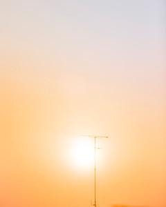Lever de soleil exotique ;)