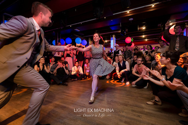 ✰ Dance is Life serie ✰ Wide swing out in a jam at The Swing Challenge 2017 :D ☞ Full serie: http://tinyurl.com/LXMDanceIsLife  Feel free to share on social media with the author's credit and no crop, for non promotional and non commercial use. © LIGHT EX MACHINA 2017, all other rights reserved.