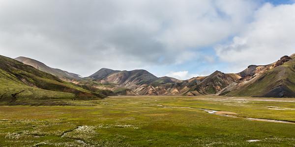 Green Landmannalaugar