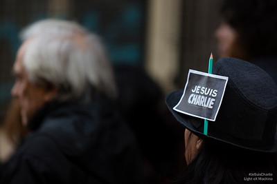 Chacun adpate #JeSuisCharlie à sa façon.