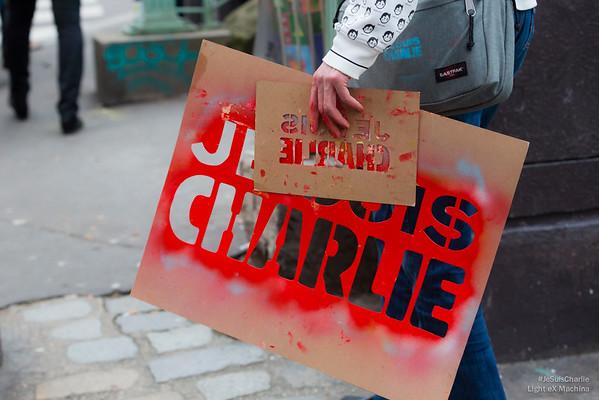 Pochoirs #JeSuisCharlie