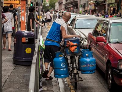 The working bicycle / Street HK