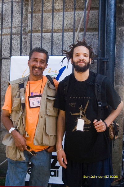 Ben Johnsn and Savion Glover -  the 2006 JVC Newport Jazz Festival