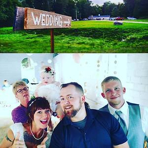 Tim & Tracy Wedding Selfie