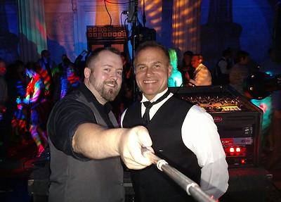 Saucier Wedding DJ Selfie