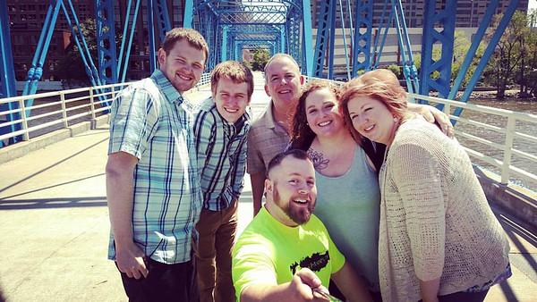 Tremayne Family Selfie