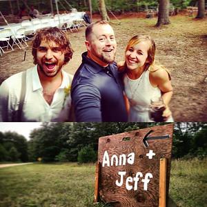 Anna & Jeff Wedding Selfie