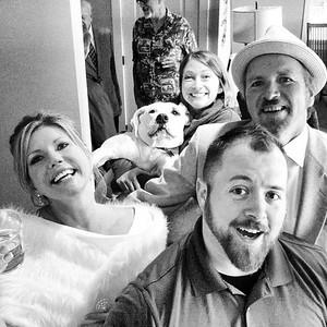 Leaver Wedding Selfie