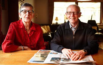 Hverdagsrehabilitering, ergoterapeut Tina Andersen på besøg i hjemmet hos Jonna og Anders Feldbak Karup, 8.11.2012