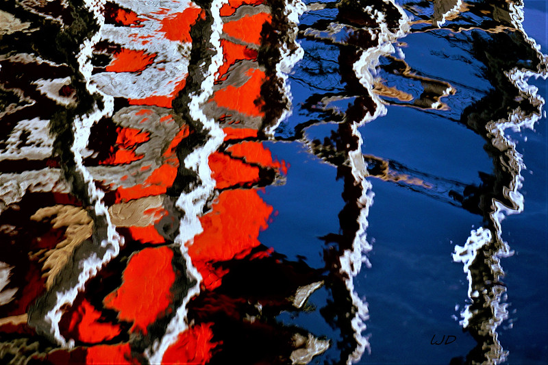 """Maritime Reflections"" - Linda Dahlberg"