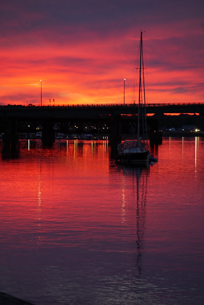 """Sailing East of the Alluring Sunset"" - Linda Dahlberg"