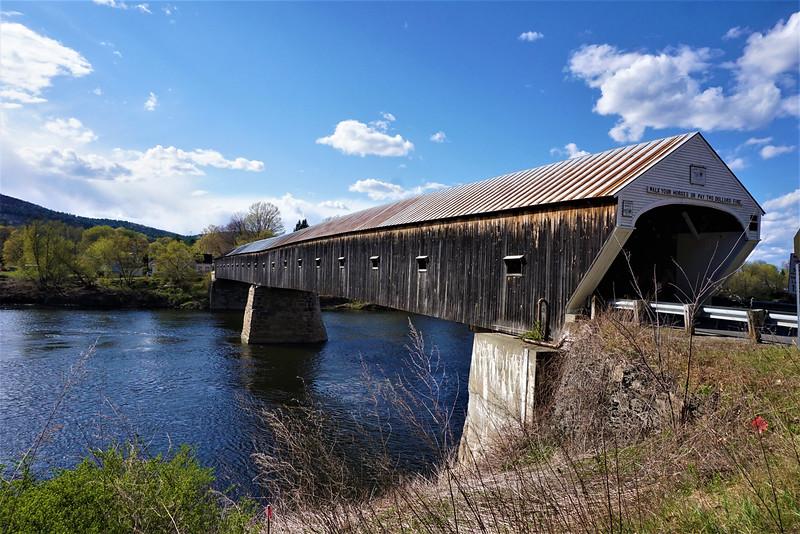 """Cornish Windsor Covered Bridge"" - Linda Dahlberg"