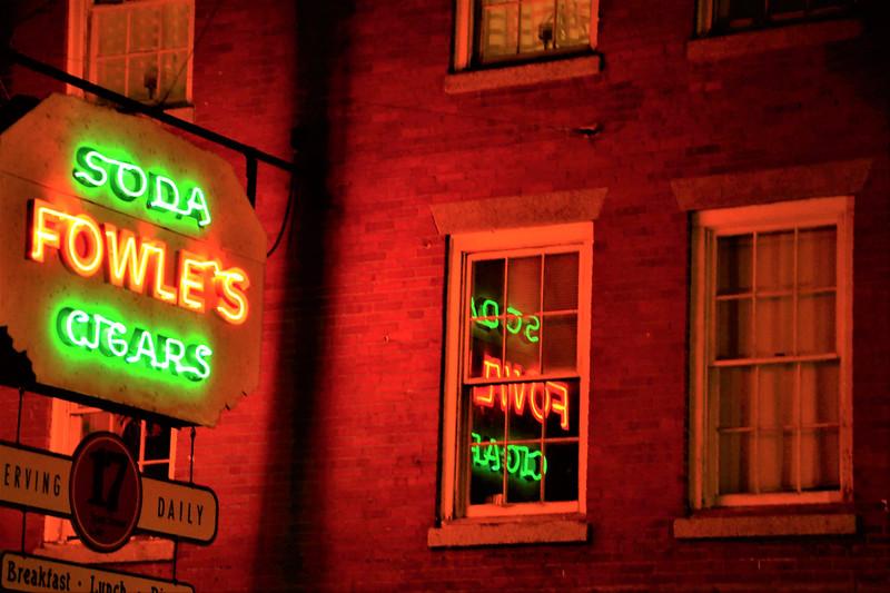 """Newburyport's Iconic Signage"" - Linda Dahlberg"