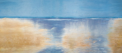 """Coastal Marsh"" (Boatscapes Series) - Renee Giffroy"