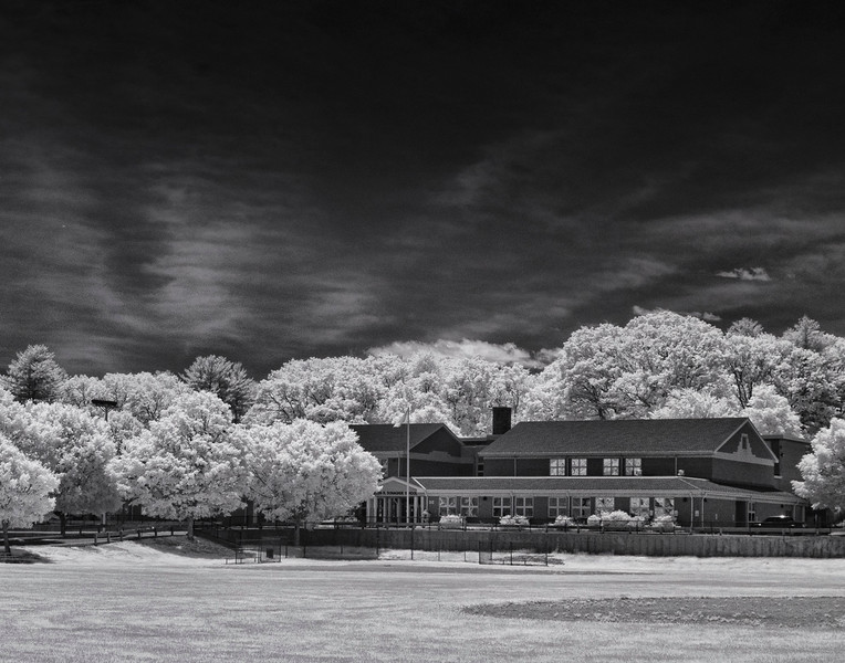 """""""Locust Street School Infrared"""" - Sam Davis"""