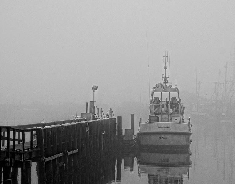 """Foggy Morning in Menemsha"" - Sam Davis"