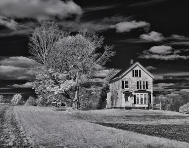 """W. Newbury Farm Infrared"" - Sam Davis"