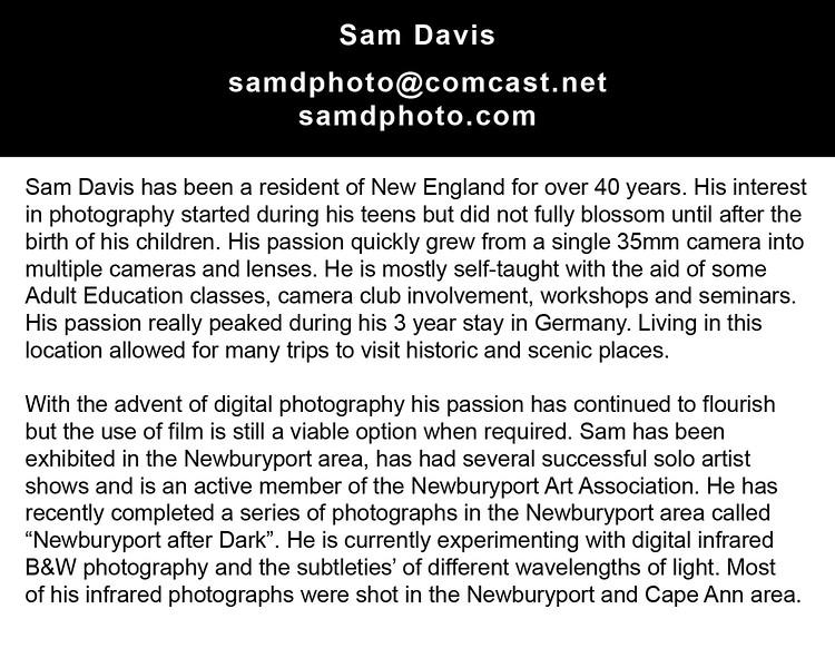 "samdphoto@comcast.net<br />  <a href=""http://www.samdphoto.com"">http://www.samdphoto.com</a>"