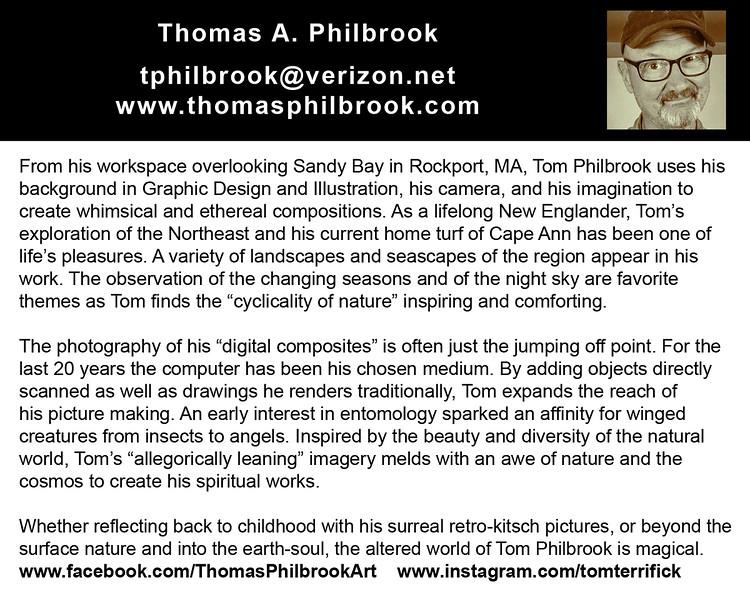 "tphilbrook@verizon.net<br />  <a href=""http://www.thomasphilbrook.com"">http://www.thomasphilbrook.com</a>"
