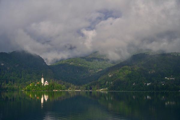Bled, Slovenia Church