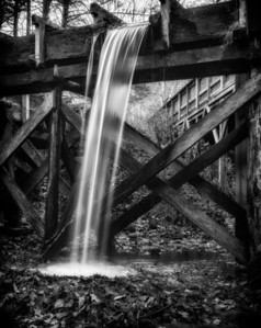 Flume, Mabry Mill, Blue Ridge Parkway