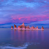 Suset at Mono Lake