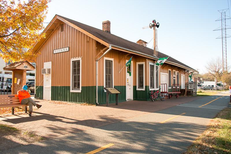 The Vienna RR Depot
