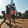 Netball is a very popular sport in Uganda and is usually one of the sports played during X-SUBA's Connection Day.  Each Saturday, youth in the community meet at a local church to play sports and talk about life skills with X-SUBA coaches.