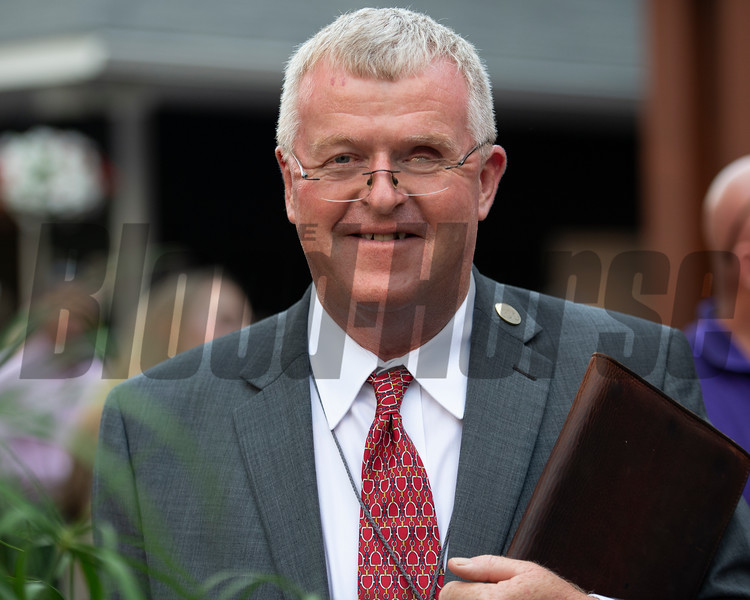Pat Costello<br /> Sales scenes at Fasig-Tipton in Saratoga Springs, N.Y. on Aug. 9, 2021.