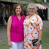 (L-R): sisters Marcia Baldwin and Dede McGee<br /> Sales scenes at Fasig-Tipton in Saratoga Springs, N.Y. on Aug. 10, 2021.