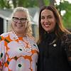 (L-R): Dede McGee, Rita Riccelli<br /> Sales scenes at Fasig-Tipton in Saratoga Springs, N.Y. on Aug. 10, 2021.