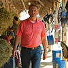 Chad Brown at his barn. <br /> Sales scenes at Fasig-Tipton in Saratoga Springs, N.Y. on Aug. 10, 2021.
